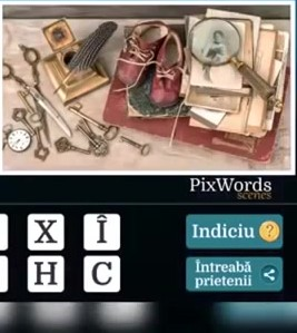 Pixwords Scenes Nivelul 18
